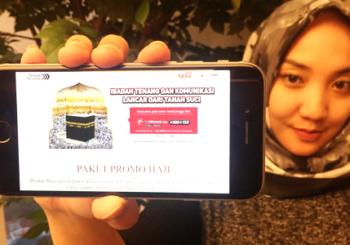 Tenang Beribadah dan Mudah Berkomunikasidi Tanah Suci dengan Telkomsel