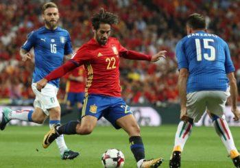 Isco Dua Gol, Spanyol Taklukkan Italia 3-0