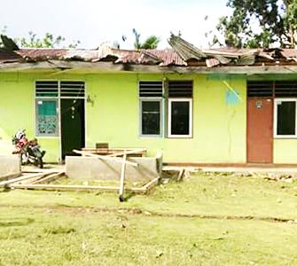 Korban Puting Beliung di Cemara Jaya Butuh Bantuan Pemkab Haltim
