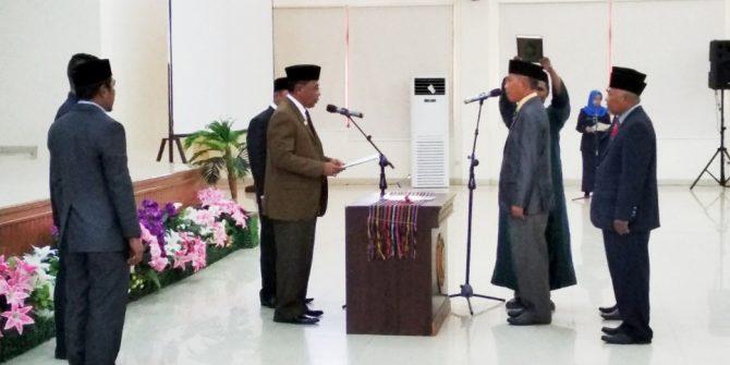Kekosongan Jabatan, Bupati Lantik Husen Nurdin Jabat Sekda Halteng