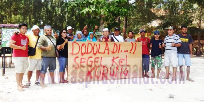 Program Pengembangan Spot Pariwisata Pulau Dodola Terancam Gagal