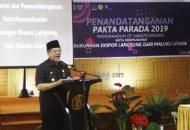 Galakan Ekspor, Gubernur Janjikan Perbaikan Fasilitas