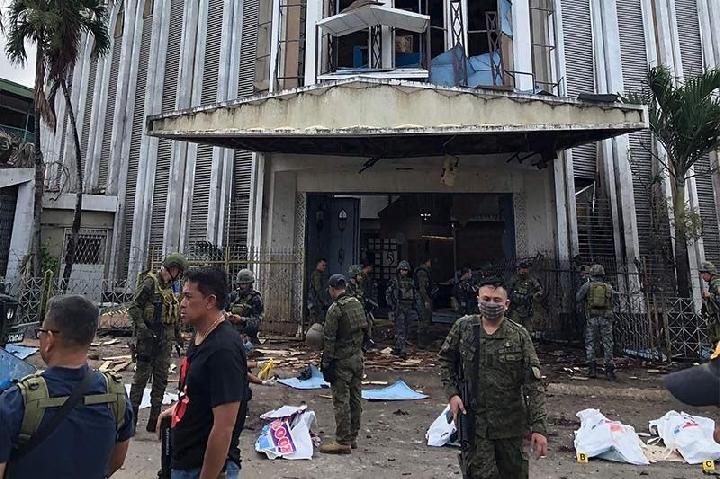 Pelaku Bom Bunuh Diri Gereja di Filipina Adalah Suami-Istri WNI