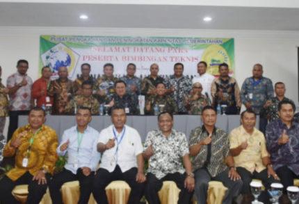 Aliong Mus, Buka Bimtek Penatausahaan Keuangan Daerah