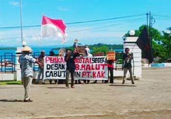 SAMURAI Desak DPRD Tolak Pertambangan Pasir Besi Masuk Morotai