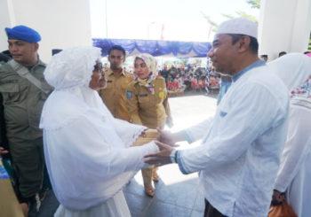 Wakil Bupati Morotai Sambut Sangat Kedatangan 72 Jama'ah Haji