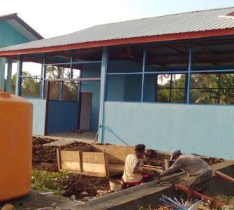 Tekan Volume Sampah, DLH Morotai Bangun Rumah Pengomposan