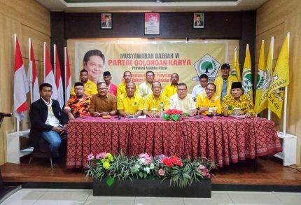 Syukur Mandar Terpilih jadi Ketua DPD I Partai Golkar Malut