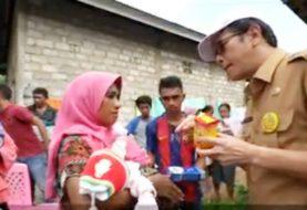 Video Pencegahan Covid 19: Bupati Pulau Morotai Benny Laos Memastikan Penyaluran Sembako Kepada Warga