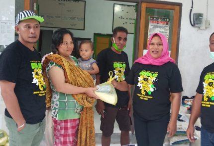 Kembali ke Dapil, Makmurdin Mus Berbagi Sembako