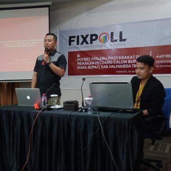 Fixpoll Indonesia: TIVA Paling Populer dan Disukai di Haltim