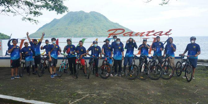 Sports Tourism ala Jurnalis Malut dan Harita Nickel